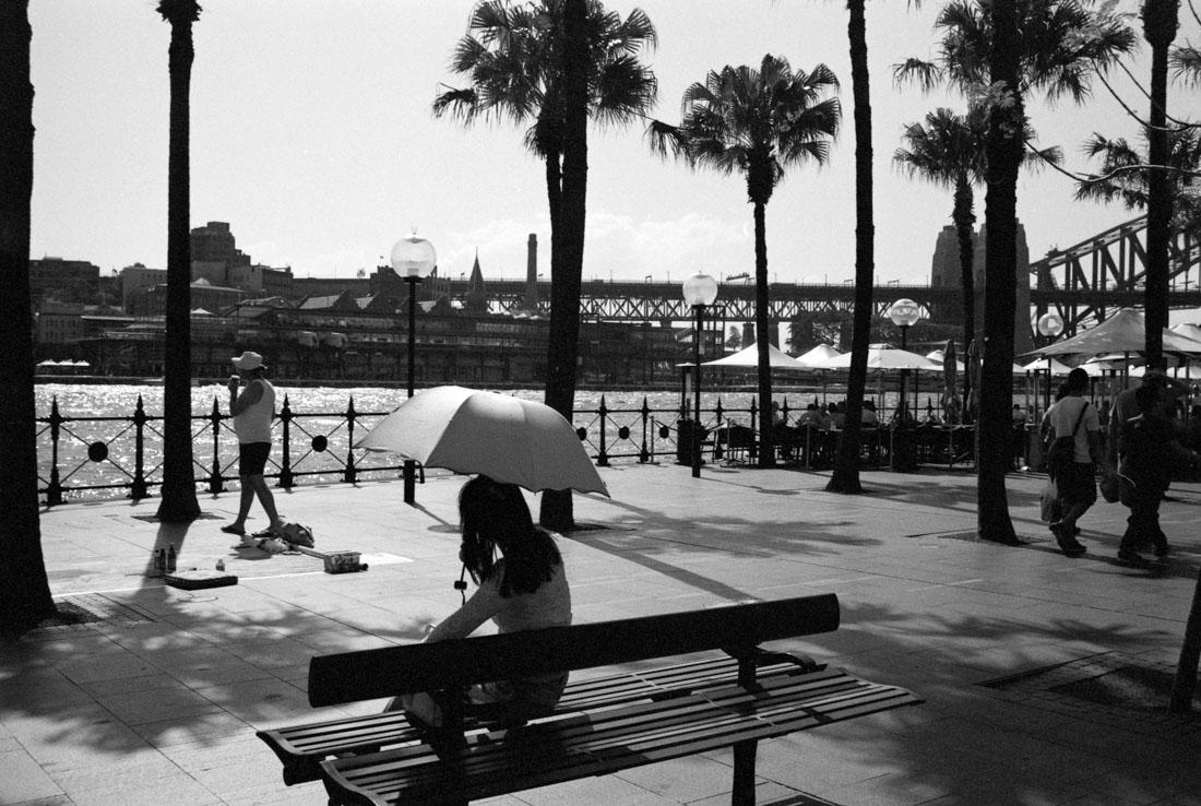 Sun umbrella | Nikon F3 | Nikkor 35mm f/2.8 Ai | JCH Street Pan 400
