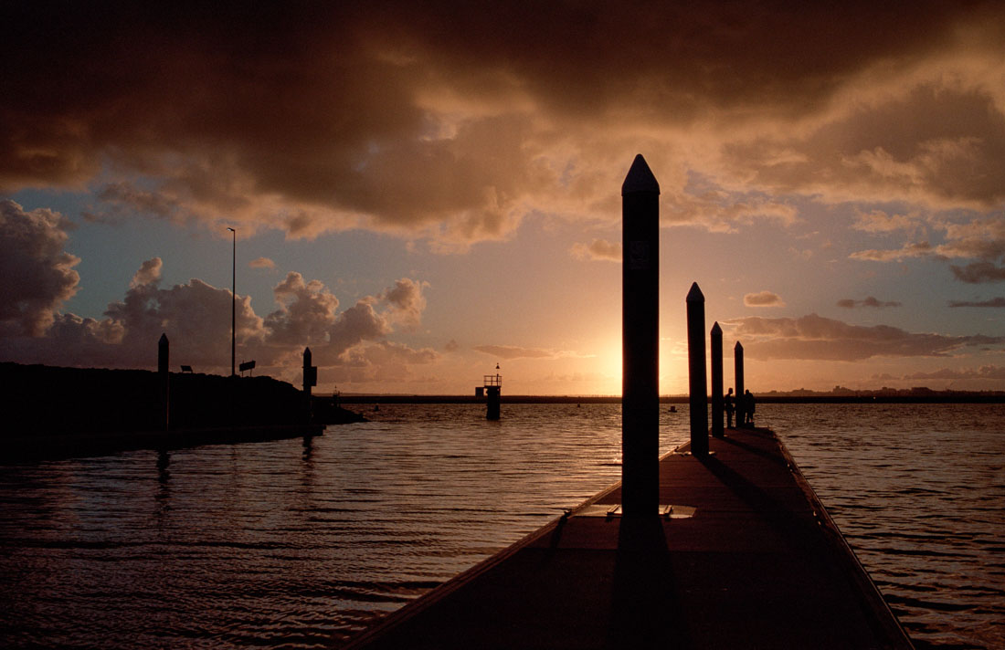Pier at Botany Bay | Nikon F3 | Nikkor 35mm f/2.8 Ai | Kodak Portra 160
