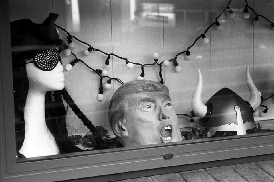 Halloween masks | Leica M3 | Leitz Summicron 5cm f/2 DR | Kodak Tri-X