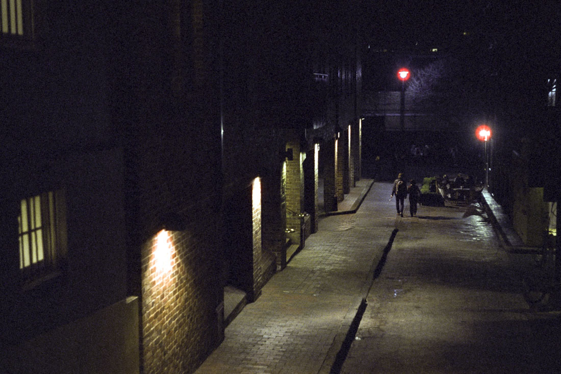Quiet Street | Leica M3 | Leitz Summicron 5cm f/2 DR | Cinestill 800T