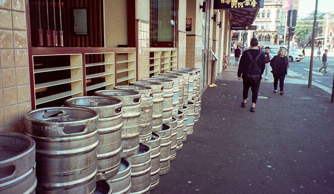 Beer kegs   Canon Elph 2   Fujifilm Nexia A200 (expired)