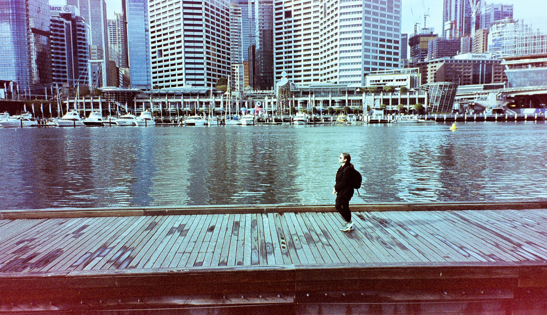Boardwalk, Darling Harbour | Canon Elph 2 | Kodak advantix 200 (very expired)