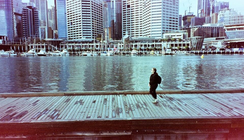 Boardwalk, Darling Harbour | Canon Elph 2 | Kodak advantix 200 (very expired)