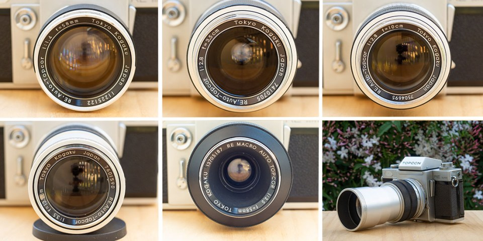 Topcor RE Auto lenses