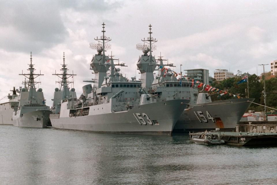 Navy ships | Topcon RE Super | Topcor 58mm f/1.4 | Kodak Pro Image 100