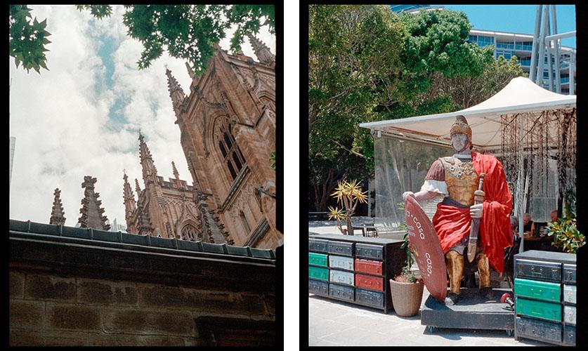 Cathedral (l), Nero (r) | Agfa Optima-Parat | Kodak Portra 400