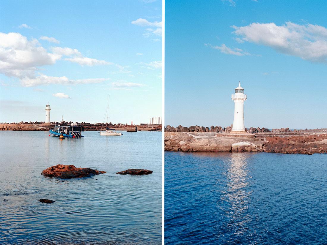 Lighthouse | Pentax Spotmatic SP | Carl Zeiss Jena Pancolar 50mm f/1.8 | Kodak Ektar 100