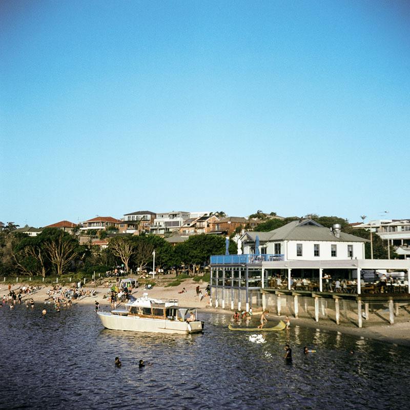 Beachside fun, La Perouse | Bolseyflex | Kodak Portra VC 160 (expired)