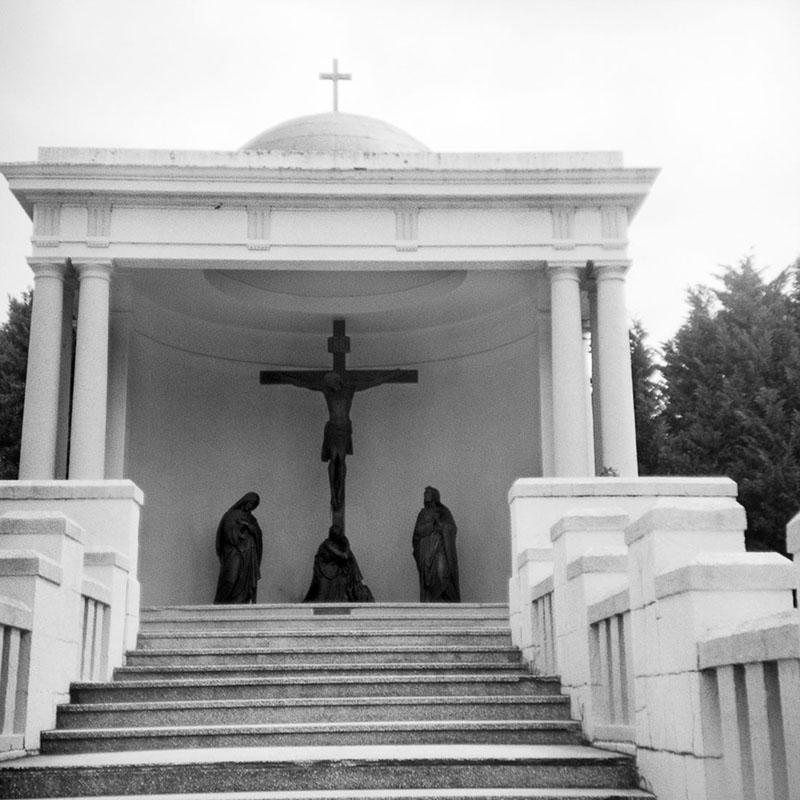 Religious sculptures | Bolseyflex | Ilford FP4 Plus