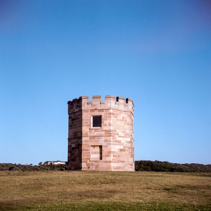 Macquarie Watchtower | Bolseyflex | Kodak Portra VC 160 (expired)
