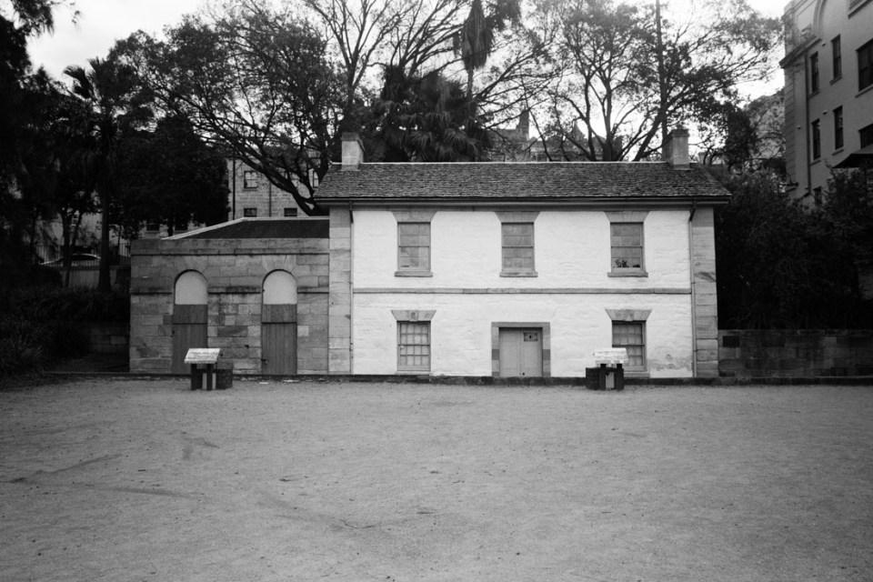 Historic house | Mamiya Press Super 23 | Sekor Seikosha-S 65mm f/6.3 | Kodak Tri-X