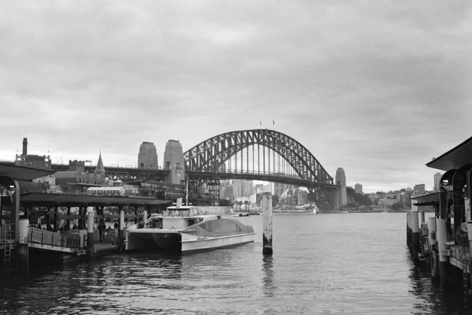 Sydney Harbour Bridge | Mamiya Press Super 23 | Sekor 100mm f/3.5 | Kodak Tri-X @ EI 800