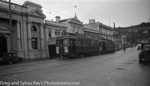 Trams in Wanganui, New Zealand. (2)