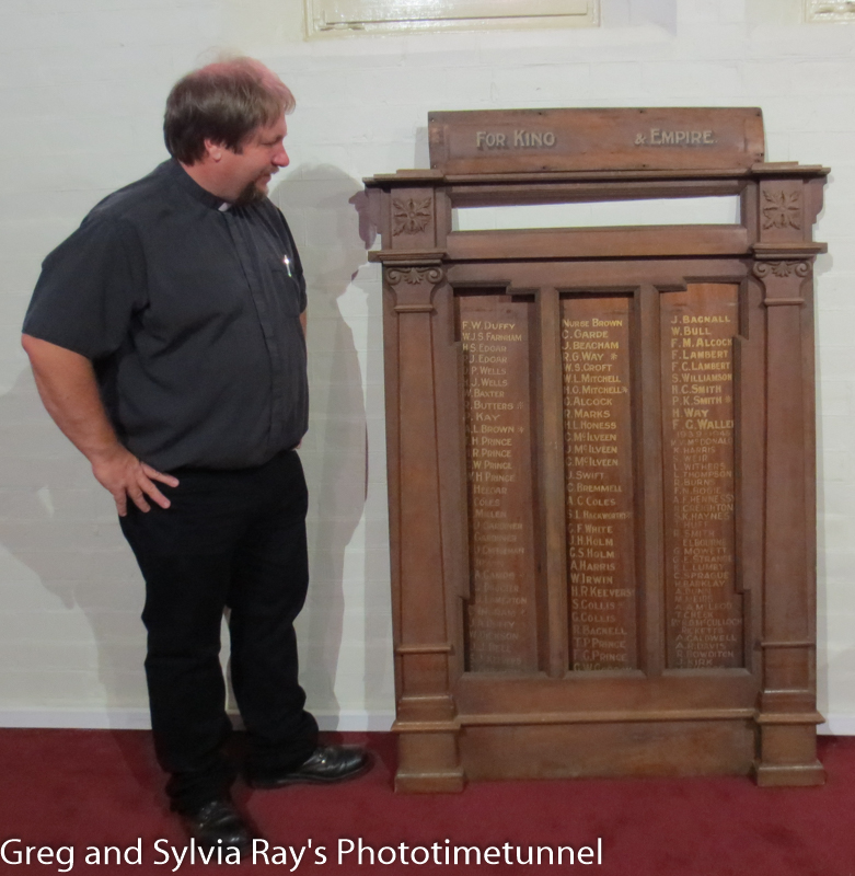 Lost honour roll found its way home