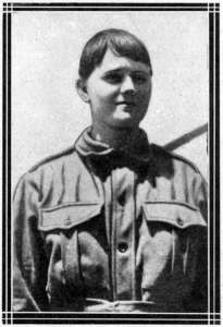 Maud Butler, the Kurri girl who wanted to be a soldier, and her bad soldier brother