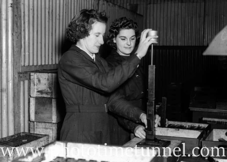 When Mum made guns for Aussie soldiers