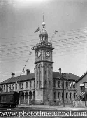 Customs House, Newcastle, NSW, circa 1940s