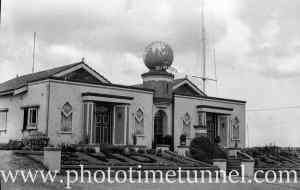 Radio station 2HD, Sandgate, Newcastle, NSW, January 9, 1941.