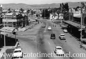 View of Cessnock, NSW, circa 1966. (1)