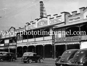 Royal Hotel, Taree, NSW, circa 1950s.