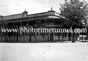 Woolpack Hotel, Tumut, NSW, circa 1950s.