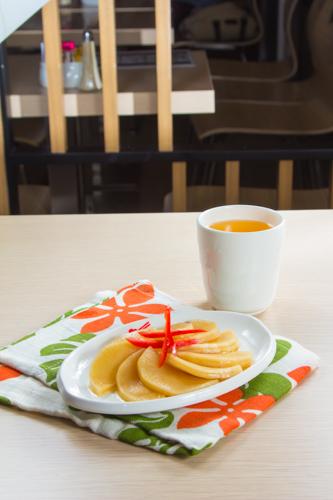 【前菜小食醃漬蘿蔔】給餐館的好用素材