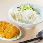 【吉列豬扒米線】飲食業專用素材圖像