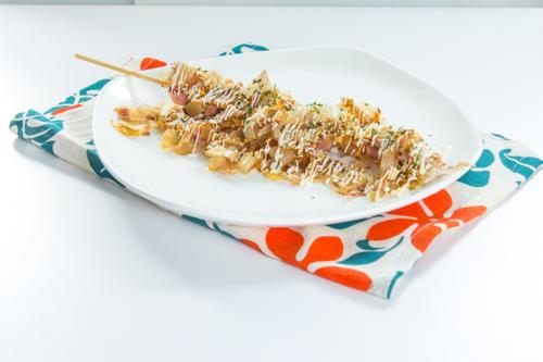【日式木魚片魷魚串燒】印刷級的美食相