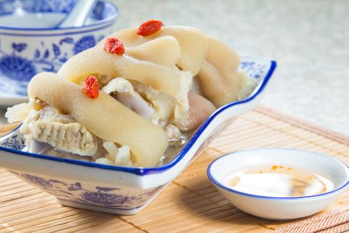 【中式餐前涼拌小吃炆豬手】下載即用超方便餐牌相片