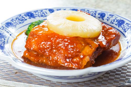 【紅燒豬腩肉配菠蘿】的餐飲業界向產品