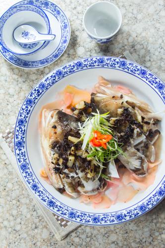 【香滑鮮魚料理豉汁蒸魚頭】可以下載的食物相