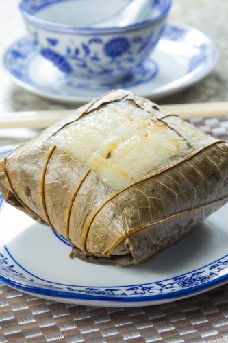 【香港地道茶樓平民點心糯米雞】的美饌素材畫像