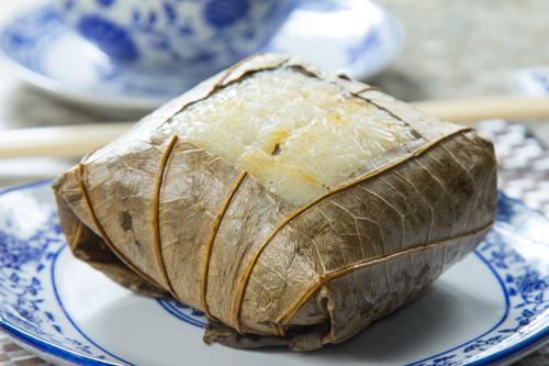 【香港地道茶樓平民點心糯米雞】飲食業專用素材圖像