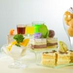 【泡芙啫喱果凍及切件蛋糕雜錦甜品拼盤】給餐館的零失敗好用素材
