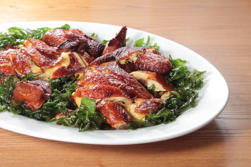 バジル焼き鶏