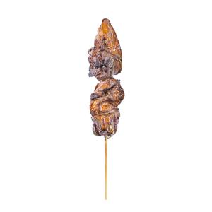 【雞心串燒   直身正面】專業食物攝影師的餐牌設計用圖片庫