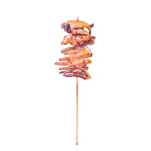 squid tentacle skewer