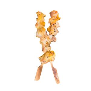 【黑椒雞軟骨串燒   直身正面】比自己拍攝更便宜而且已經處理好的食物相片方案
