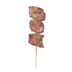 black pepper beef tongue skewer