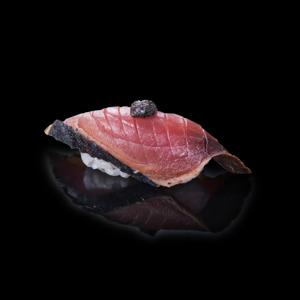 【火炙鰹魚壽司】已剪去背景飲食業專用素材圖像