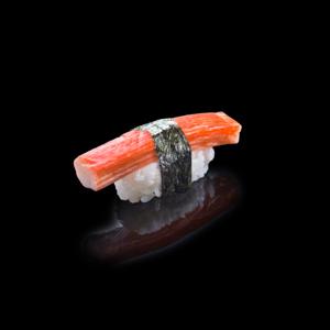 カニカマ寿司の切抜き画像・食べ物写真素材・商用ダウンロード可