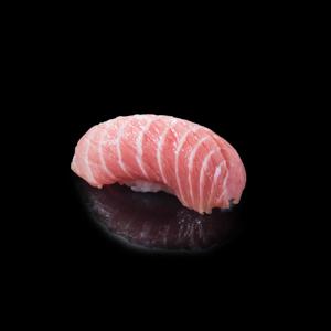 マグロ中とろ寿司の切抜き画像・食べ物写真素材・商用ダウンロード可