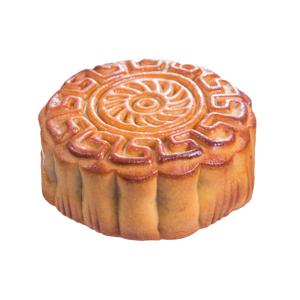 【圓形全個月餅】飲食業專用退地無背景素材圖像