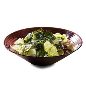 海藻生菜沙拉的去背退地食物素材相片