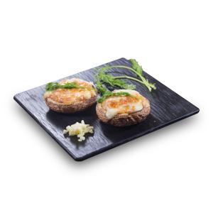 【芝士焗兩隻大蘑菇】執相都慳返直出餐牌設計