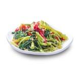 椒絲腐乳通菜的去背退地食物素材相片
