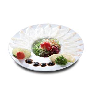 鯛魚刺身切片的去背退地食物素材相片