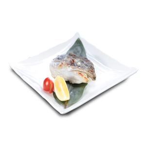 鹽燒油甘魚頭的去背退地食物素材相片