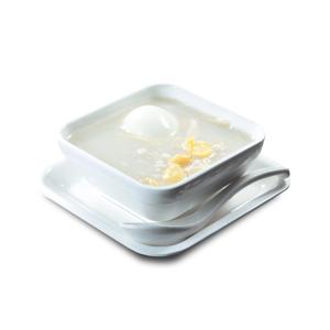 腐竹白果雞蛋糖水的去背退地食物素材相片