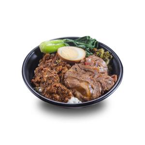 【鹵水蛋肉燥牛展飯】最專業的食物商業照